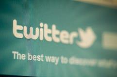 Twitter Fotografia Stock