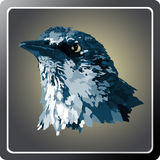 Twitter. Illustration App made in Photoshop Royalty Free Stock Image