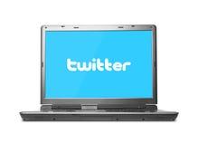 Twitter begrepp Arkivfoton