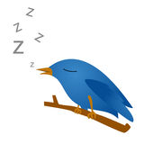 Twitter bird Stock Image
