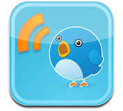 Twitter bird Royalty Free Stock Image