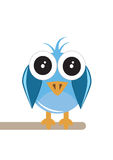Twitter Bird Royalty Free Stock Photography