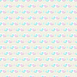 Bird valentine background. Two twitter birds in a heart shape background. Seamless pattern Royalty Free Stock Images