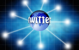Twitter concept Stock Image