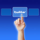 Twitter Concept Royalty Free Stock Photos