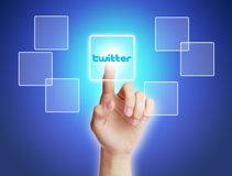 Twitter Concept Royalty Free Stock Image