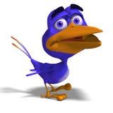 Twitter dell'uccello del fumetto Immagini Stock Libere da Diritti