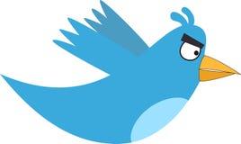 Twitter fâché Photographie stock libre de droits