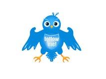 Twitter heraldic Royalty Free Stock Image
