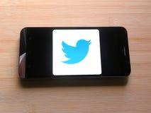 Twitter Lite app fotografia stock