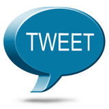 Twitter Social Media Tweet Royalty Free Stock Image