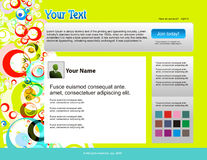 Twitter themes Stock Images