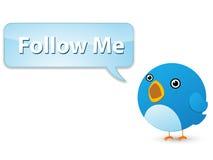 Twittervogel Stockbild
