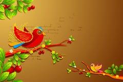Twitting Birds Royalty Free Stock Images