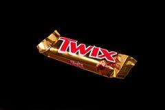 Twix-Schokoriegel Lizenzfreies Stockbild