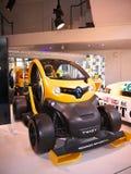 Twizy på mer l'Atelier Renault Royaltyfria Bilder