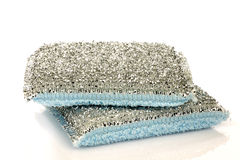Two abrasive pads Royalty Free Stock Photography