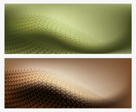 Two Abstract Background Texture Stock Images