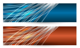 Two abstract banner Royalty Free Stock Photo