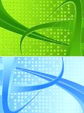 Two abstract banners Royalty Free Stock Images