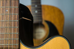 Two Acoustic Guitars Royalty Free Stock Photo