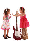 Two addorable sisters Royalty Free Stock Photography