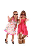 Two addorable sisters Royalty Free Stock Photos