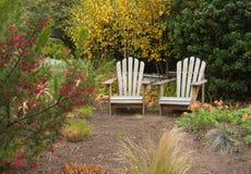 Two adirondack chairs Royalty Free Stock Photo