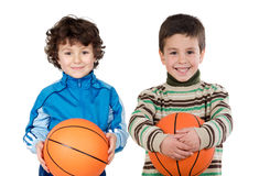 Two adorable children Royalty Free Stock Photo