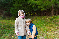 Two adorable kids Royalty Free Stock Image