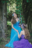 Two adult sisters, twins Royalty Free Stock Photo