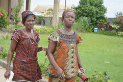 Two african women Royalty Free Stock Images