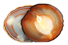 Two Agate Stock Images
