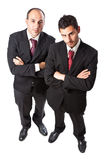 Two aggressive Businessman Royalty Free Stock Photo