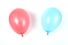 Two air balloons. stock photo