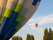 Two air balloons Stock Photo