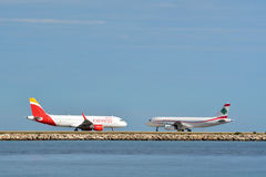 Two airplanes Royalty Free Stock Image