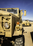 Two all-terrain vehicles designed for war III Stock Photography