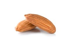 Two almond Royalty Free Stock Image