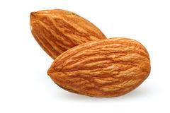Two Almonds Royalty Free Stock Image