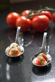 Two amuse bouche Stock Image