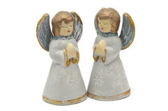 Two angels Stock Photos