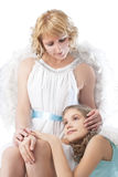 Two angels Royalty Free Stock Image