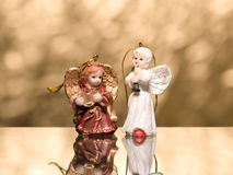 Two angels Stock Photo