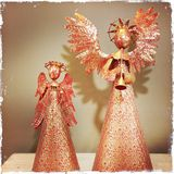 Two angels Royalty Free Stock Photography