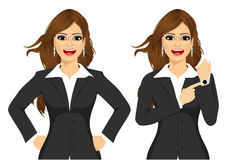 Two angry businesswomen Royalty Free Stock Photo