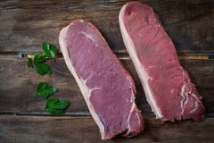 Angus meat Stock Image