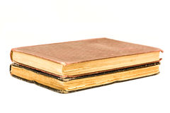 Two antique books. Royalty Free Stock Photos