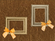 Two antique frames Stock Photo