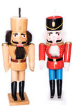 Two antique nutcrackers Stock Image